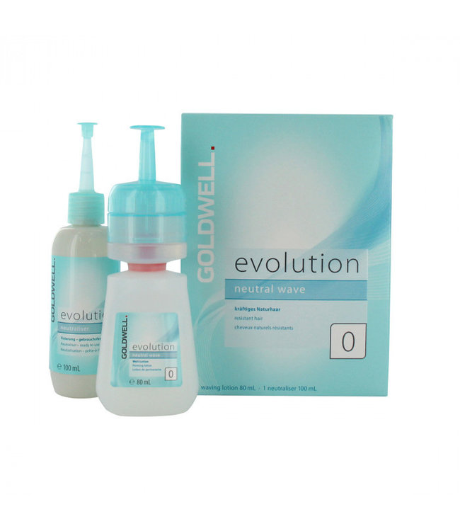 Goldwell Evolution neutral wave 0 Resistant hair 180ml