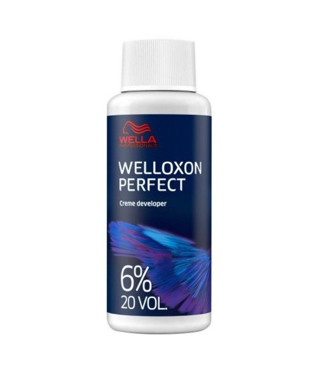 Wella Welloxon Perfect Oydant Creme 6% 20vol 60ml