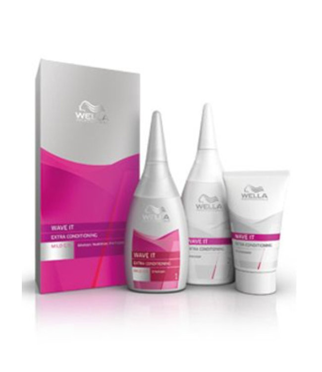 Wella Wave It Extra Conditioning Mild Single Application Kit 205ml