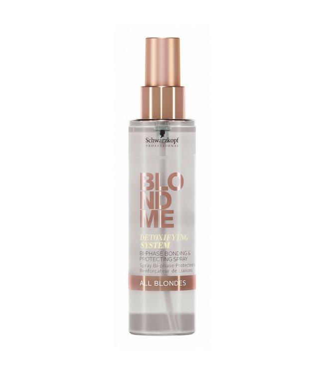 Schwarzkopf Blond Me Detoxifying System Bi Phase Bonding & Protecting Spray All Blondes 150ml