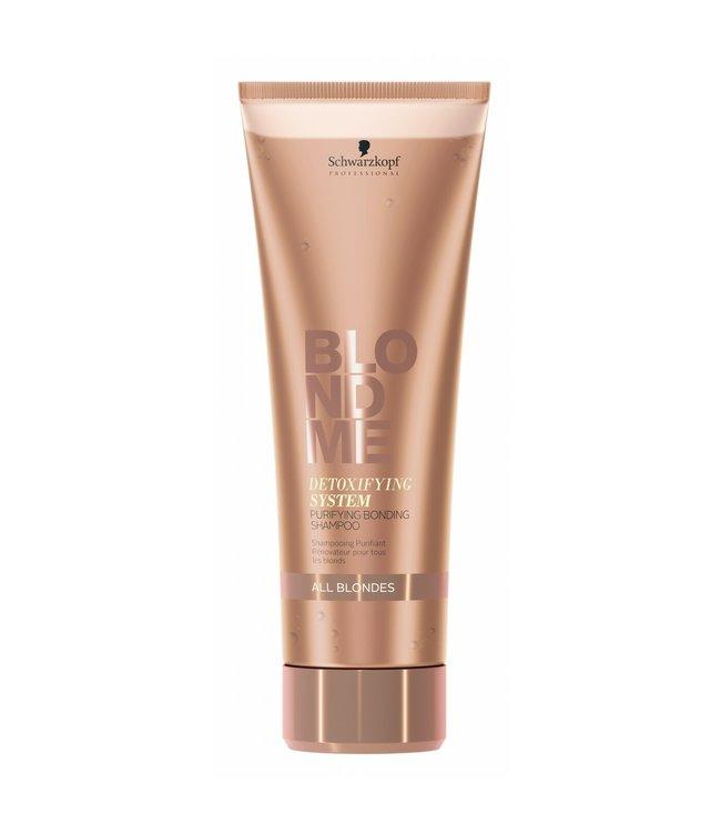Schwarzkopf Blond Me Detoxifying System Purifying Bonding Shampoo All Blondes 250ml