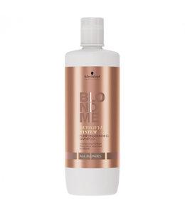 Schwarzkopf Blond Me Detoxifying System Purifying Bonding Shampoo All Blondes 1000ml