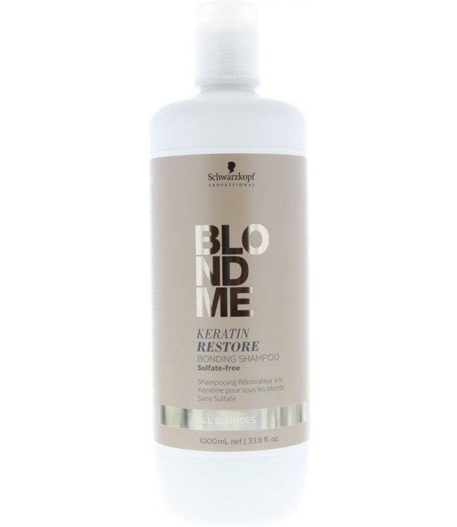 Schwarzkopf Blond Me Keratin Restore Blonde Shampoo All Blondes 1000ml
