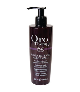 Fanola Oro Therapy 24k Viola Intenso Color Mask 250ml