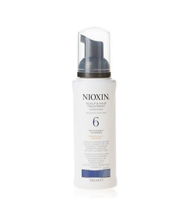 Nioxin Scalp & Hair Treatment SunScreen Noticeably Thinning Natuur Haar 6 100ml