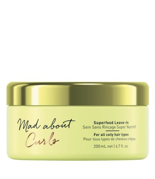 Schwarzkopf Mad About Curls Superfood Leave In 200ml