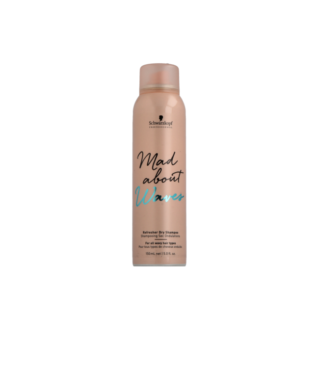 Schwarzkopf Mad About Waves Refresher Dry Shampoo 150ml