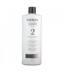 Nioxin Cleanser Shampoo Fine Hair 2 Noticeably Thinning 1000ml