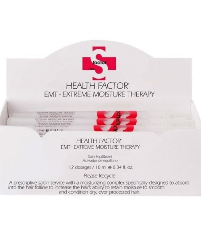 TIGI S Health Factor EMT Extreme Moisture Therapy Intense Hair Restoration 12x10ml