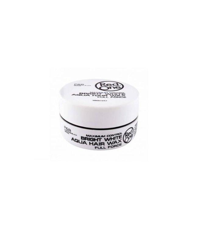 RedOne Bright White Aqua Hair Wax Full Force Maximum Control 150ml