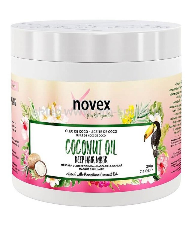 Novex Coconut Oil Deep Hair Mask 210g