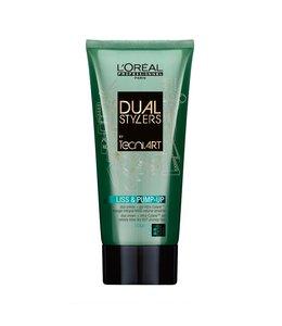L'Oréal Dual Stylers Tecni Art Liss & Pump-Up 150ml
