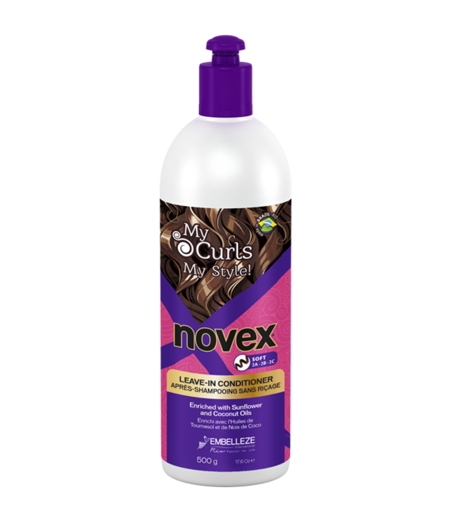 Novex My Curls Memorizer Leave in Conditioner Soft 500g