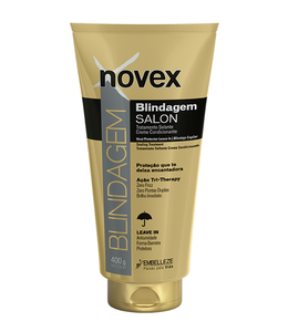 Novex Blindagem Salon Heat Protector Leave In Sealing Treatment 400g