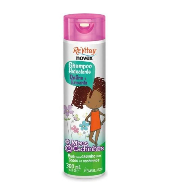Novex Revitay Shampoo Hidratante Define e Encanta 300ml