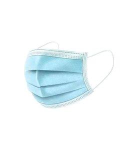 Drie-laags wegwerp mondkapje 50 stuks(SALE)