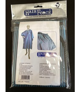 Hair Force Kapmantel met haaksluiting Blauw