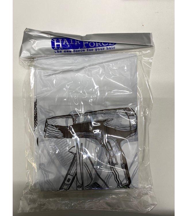 Hair Force Kapmantel Waterdicht Plastic