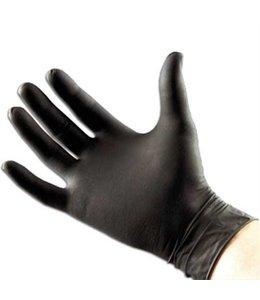 Qtop Q60 Zwart Nitrile Wegwerp Handschoenen 100 stuks