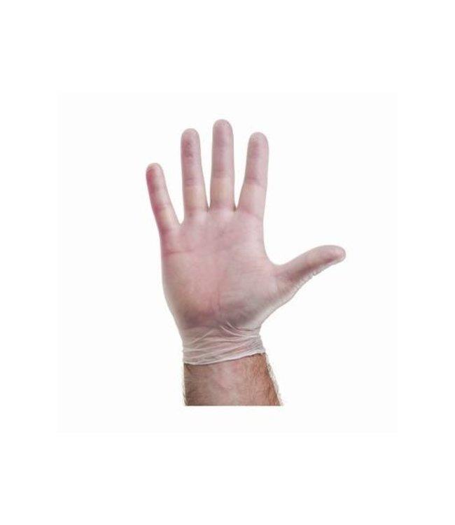 Hygoclean H10 Transparant Vinyl Wegwerp Handschoenen Gepoederd 100 stuks