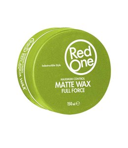 RedOne Green Matte Hair Wax Full Control 150ml