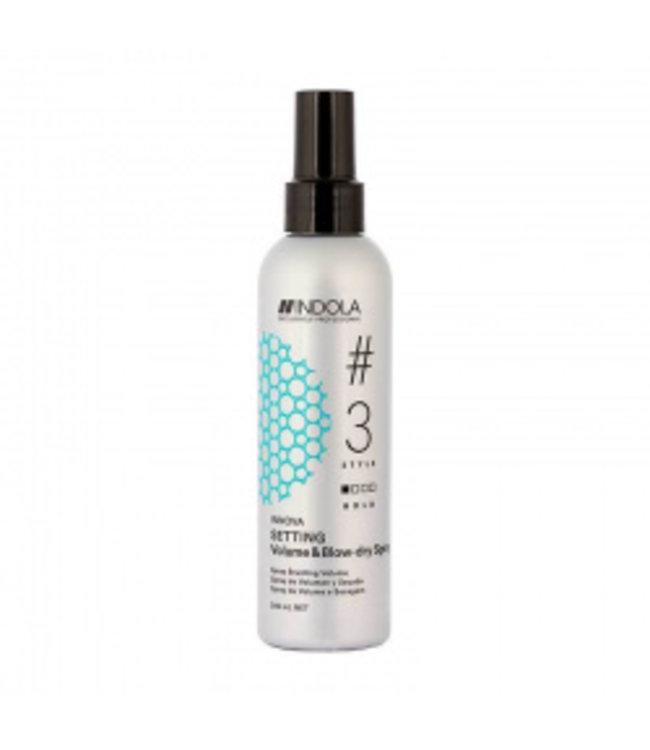 Indola Innova Volume And Blow Dry Spray 200 Ml