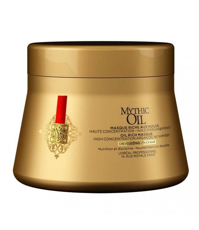 L'Oréal Mythic Oil Masque Dik Haar 200ml