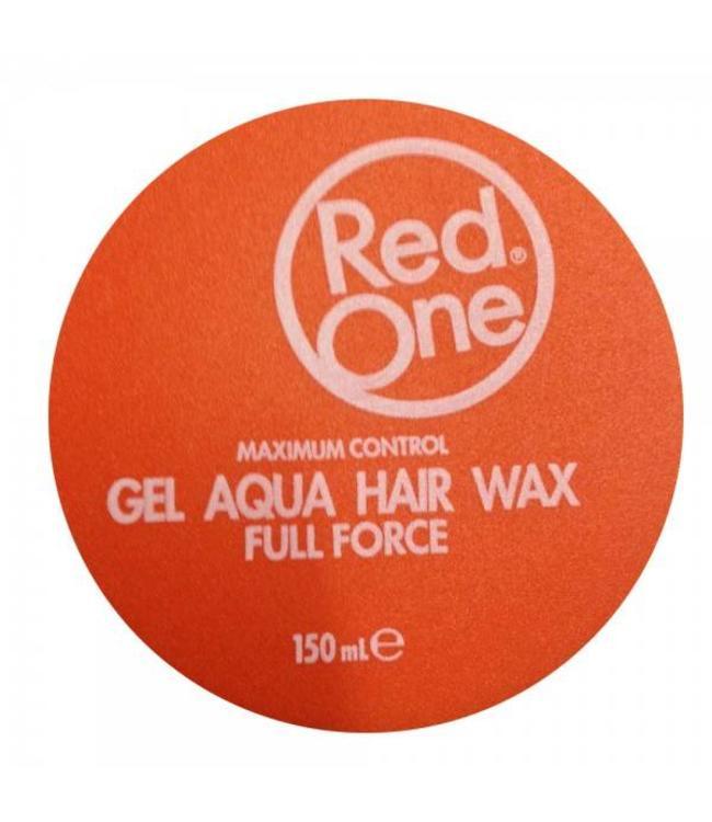 RedOne Orange Aqua Hair Gel Wax Full Force 150ml