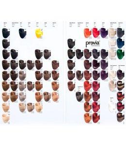 Previa Color Chart