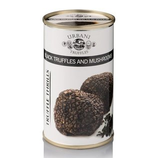 Zwarte truffel champignon saus