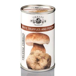 Witte truffel met porcini saus