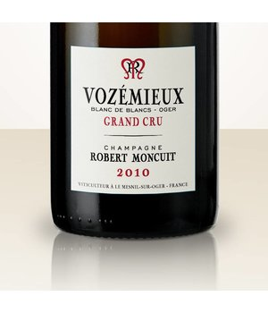 """Robert Moncuit Lieu dit d'Oger """"Les Vozémieux"""" 2010 MAGNUM"""