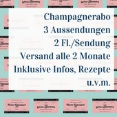 Champagner Abo Champagne Subscription - 3 shipments with two bottles