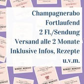 Champagner Abo Ongoing - 2 bottles per shipment