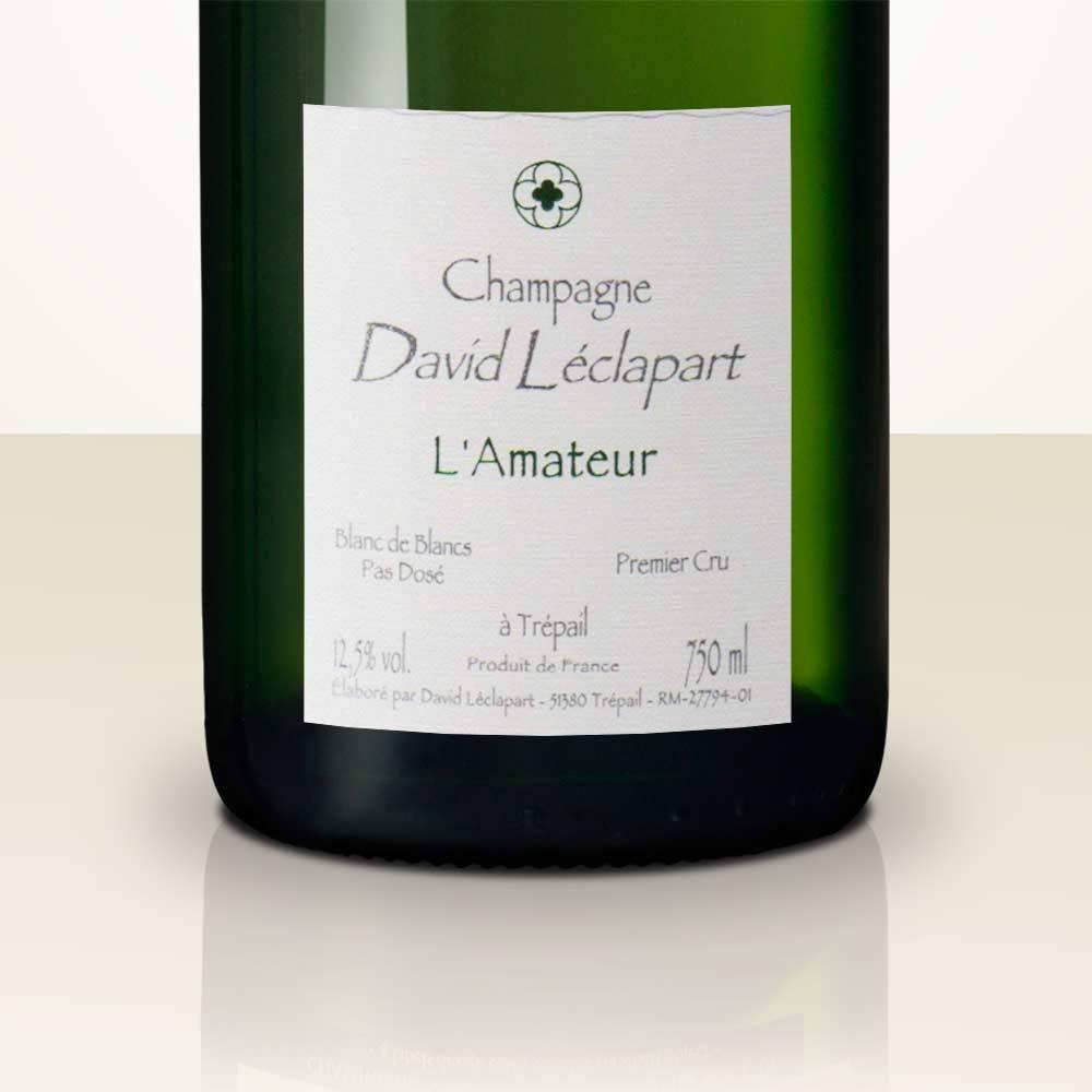 David Leclapart L\'Amateur \'14 Blanc de Blancs Brut Natur - Champagne ...