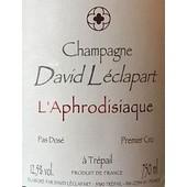 David Leclapart L'Aphrodisiaque 2012