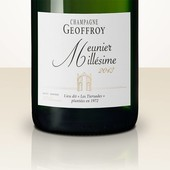 "René Geoffroy Lieu-Dit ""Les Tiersaudes"" Pinot Meunier 2013 Brut Nature"