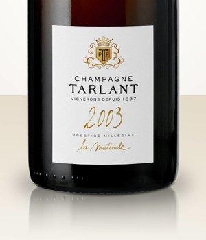 Tarlant Cuvée La Matinale Brut Nature 2003