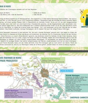Region Map Montage de Reims