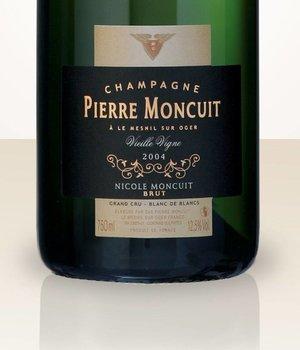 Pierre Moncuit Nicole Moncuit 2005 Blanc de Blancs Vieille vigne MAGNUM