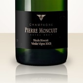 Pierre Moncuit Nicole Moncuit 2005 Blanc de Blancs Vieille Vigne Extra Brut in leather gift case