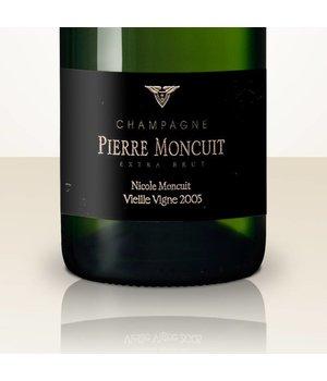 Pierre Moncuit Nicole Moncuit 2005 Blanc de Blancs Vieille Vigne Extra Brut in gift case