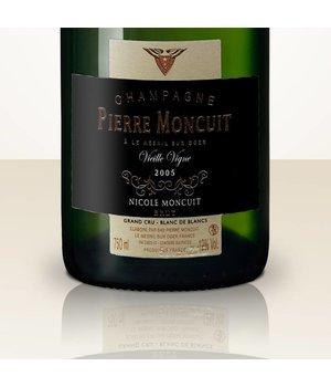 Pierre Moncuit Nicole Moncuit 2005 Blanc de Blancs Vieille vigne Grand Cru