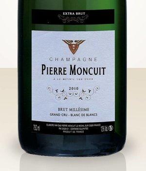 Pierre Moncuit Millésime 2010 Blanc de Blancs Grand Cru Extra Brut
