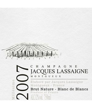 Jacques Lassaigne Millésime 2007 - Deg. 07.2015