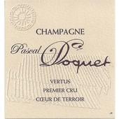 Pascal Doquet Vertus Brut 1er Cru blanc de blancs 2006