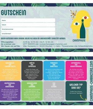 Präsente Gift Certificate for a Champagne Seminar