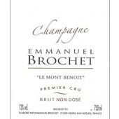Emmanuel Brochet Le Mont Benoit Premier Cru Extra Brut L15