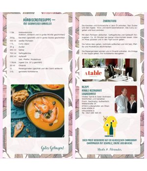 Recipe Pumpkin Soup with Prawns
