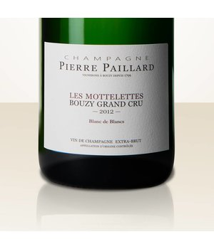 """Pierre Paillard Bouzy Blanc de Blancs """"Les Mottelettes"""" 2012"""